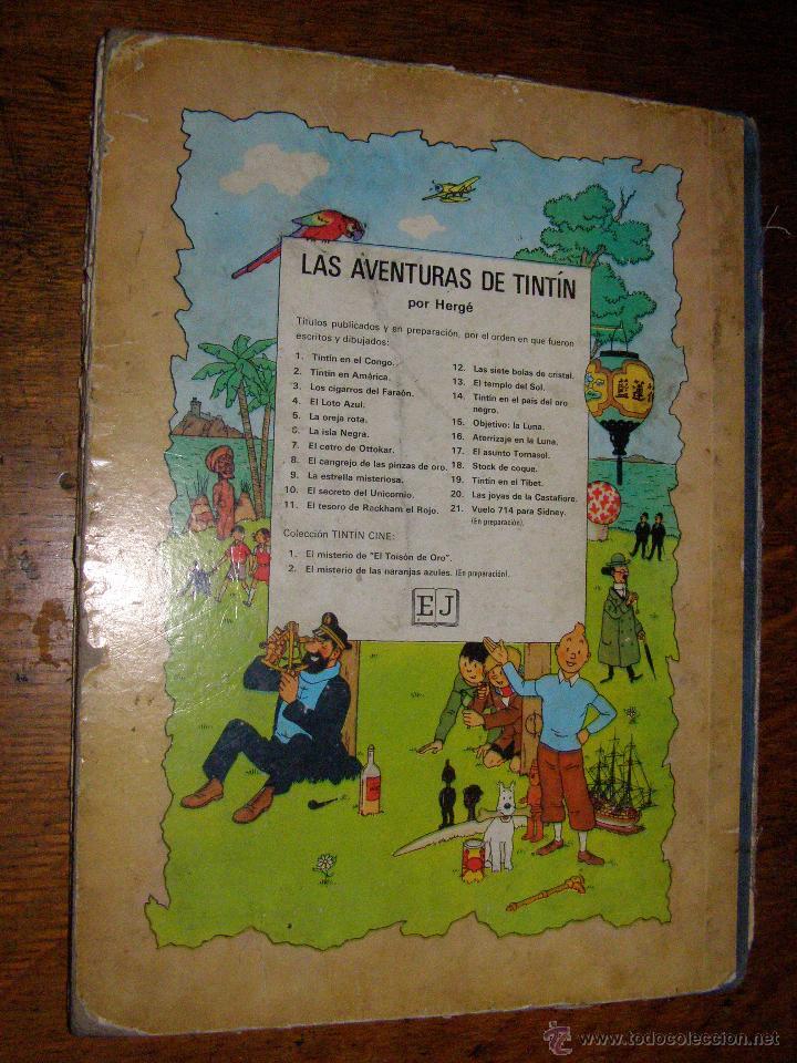 Cómics: Tintin en el Congo - Hergé - Juventud - Muy deteriorado - 1º Edición pero sin editorial - - Foto 5 - 40304451