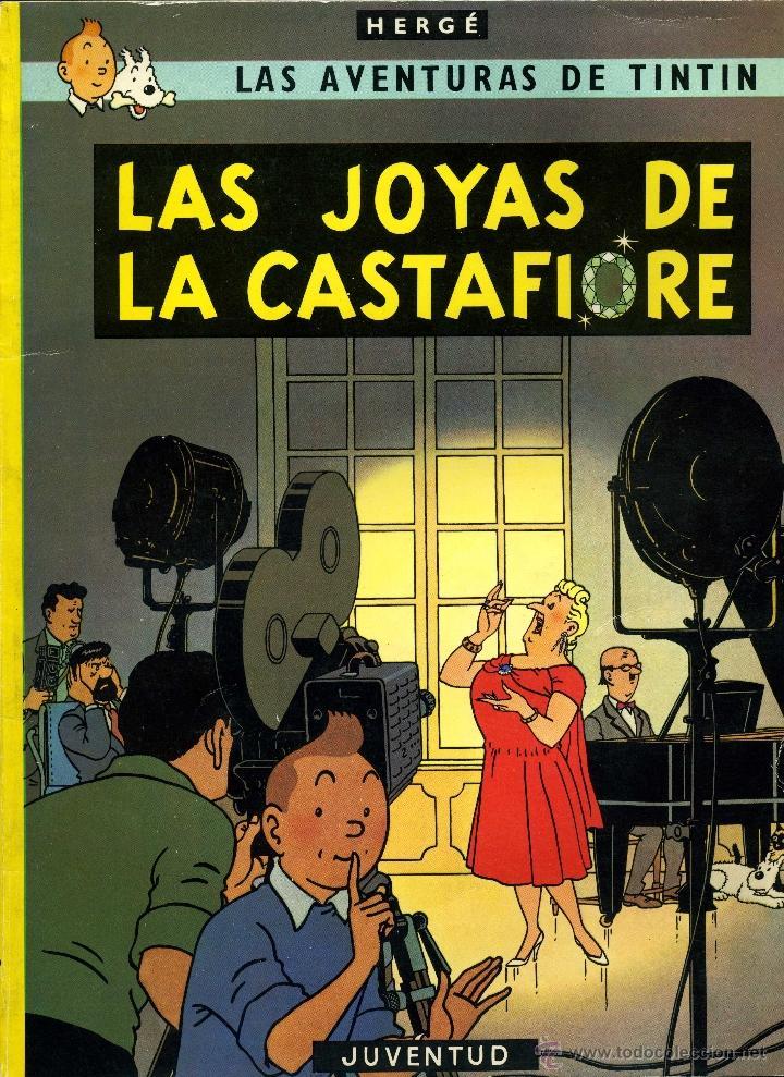 TINTÍN. LAS JOYAS DE LA CASTAFIORE (EDITORIAL JUVENTUD, 1980) (Tebeos y Comics - Juventud - Tintín)