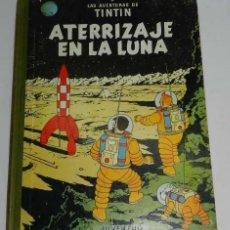 Cómics: TINTIN, ATERRIZAJE EN LA LUNA , ED. JUVENTUD , 1º EDICION 1965, FIRMA DE SU ANTERIOR PROPIETARIO.. Lote 40333169