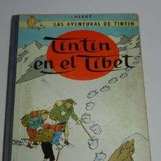 Cómics: TINTIN, EN EL TIBET, ED. JUVENTUD , 1º EDICION 1965, LE FALTA LA GUARDA DEL COMIENZO, RESTO EN BUEN . Lote 40333363