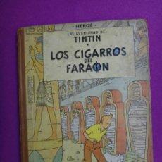 Comics - AVENTURAS DE TINTIN, LOS CIGARROS DEL FARAON , SEGUNDA EDICION 2ª 1965 , ORIGINAL - 40367356