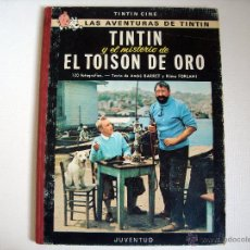 Cómics: TINTIN Y EL MISTERIO DEL TOISON DE ORO 2ª EDICION NOV 1968-. Lote 40681730