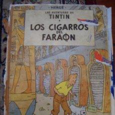 """Cómics: COMIC TINTIN """"LOS CIGARROS DEL FARAON"""". 1964. Lote 40730462"""