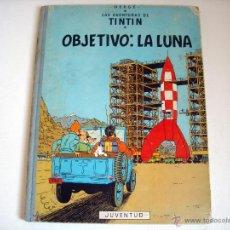 Cómics: TINTIN-OBJETIVO LA LUNA -EDICION 1965 -. Lote 40832263