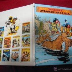 Cómics: YAKARY 9 - ATRAPADOS EN LA ISLA - DERIB & JOB - CARTONE. Lote 40882877