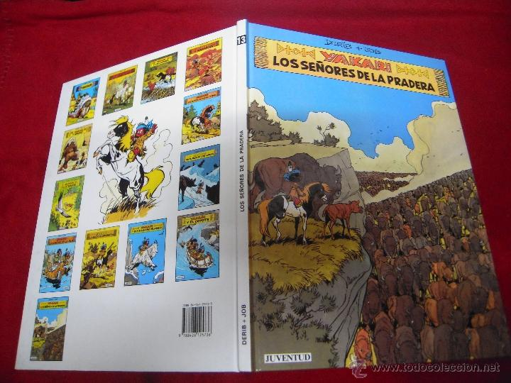 YAKARY 13 - LOS SEÑORES DE LA PRADERA - DERIB & JOB - CARTONE (Tebeos y Comics - Juventud - Yakary)