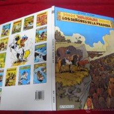 Cómics: YAKARY 13 - LOS SEÑORES DE LA PRADERA - DERIB & JOB - CARTONE. Lote 40882878