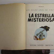 Cómics: 4126- LA ESTRELLA MISTERIOSA. HERGE. EDIT. JUVENTUD. SEGUNDA EDICION. 1964. . Lote 40888616