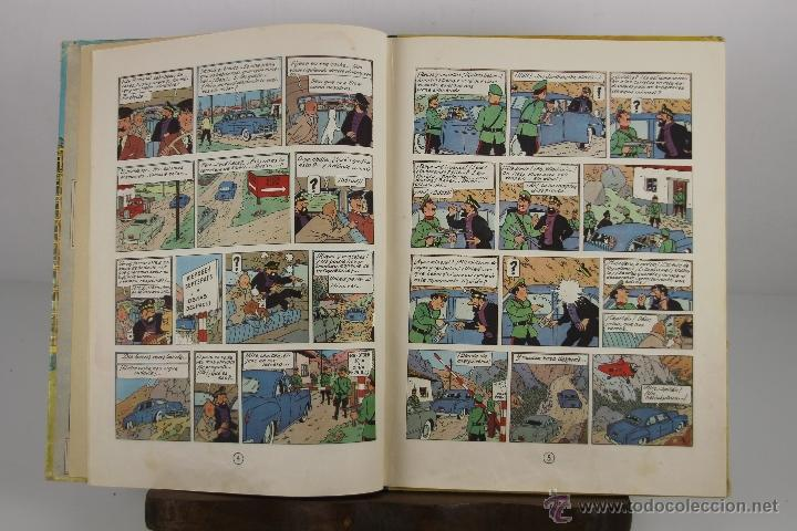 Cómics: 4130- OBJETIVO LA LUNA. HERGE. EDIT. JUVENTUD. EDICION 1965. - Foto 2 - 40889774