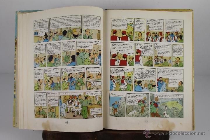 Cómics: 4130- OBJETIVO LA LUNA. HERGE. EDIT. JUVENTUD. EDICION 1965. - Foto 3 - 40889774