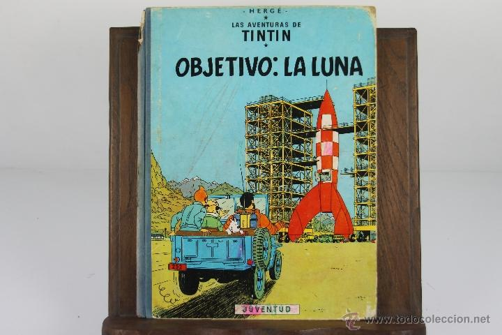 Cómics: 4130- OBJETIVO LA LUNA. HERGE. EDIT. JUVENTUD. EDICION 1965. - Foto 4 - 40889774