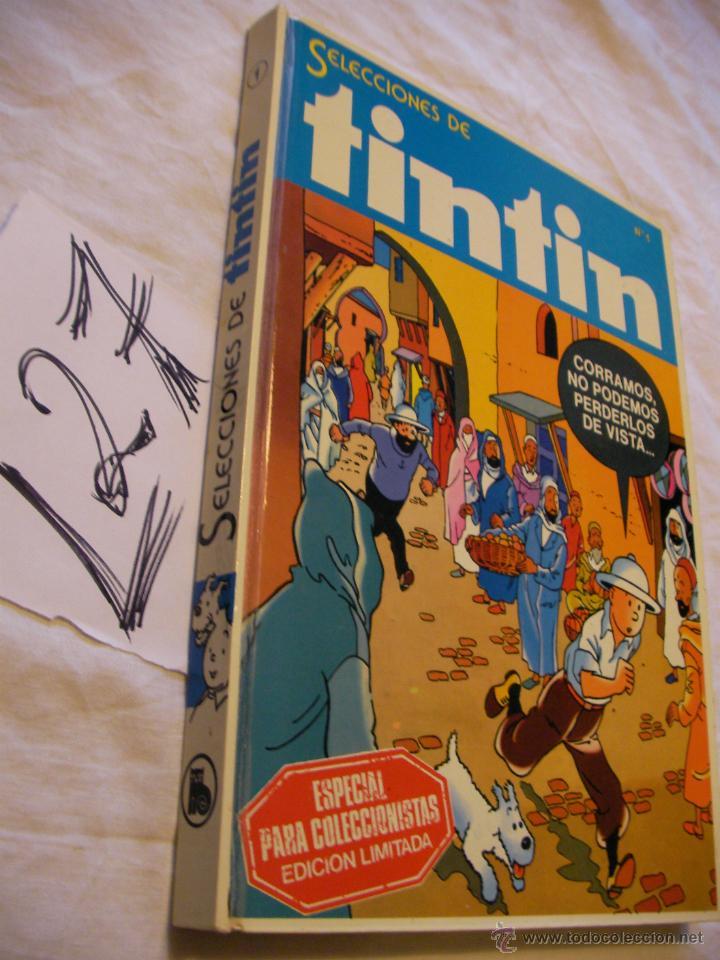 ANTIGUO GRAN TOMO DE TIN TIN EDICION COLECCIONISTA (Tebeos y Comics - Juventud - Tintín)
