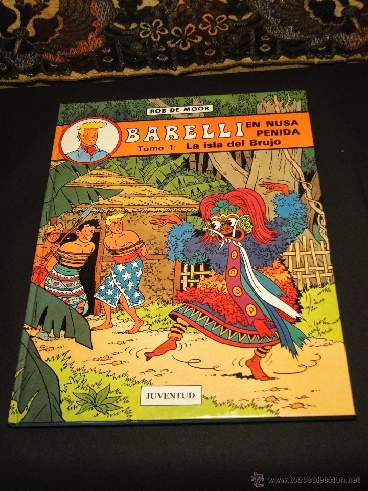 BARELLI EN NUSA PENIDA - TOMO 1: LA ISLA DEL BRUJO - BOB DE MOOR (Tebeos y Comics - Juventud - Barelli)