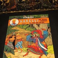 Cómics: BARELLI EN NUSA PENIDA - TOMO 1: LA ISLA DEL BRUJO - BOB DE MOOR. Lote 124457650