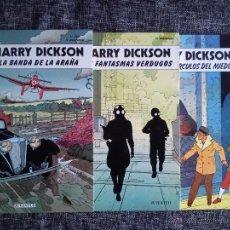 Cómics: HARRY DICKSON.LOTE 3 COMICS-LA BANDA DE LA ARAÑA-LOS FANTASMAS VERDUGOS-LOS TRES CÍRCULOS DEL MIEDO. Lote 41249834