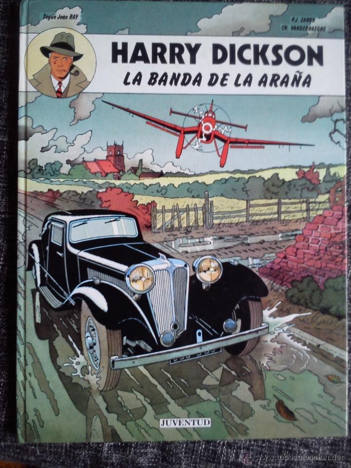 Cómics: HARRY DICKSON.LOTE 3 COMICS-LA BANDA DE LA ARAÑA-LOS FANTASMAS VERDUGOS-LOS TRES CÍRCULOS DEL MIEDO - Foto 2 - 41249834