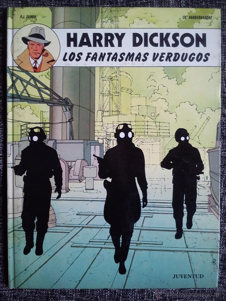 Cómics: HARRY DICKSON.LOTE 3 COMICS-LA BANDA DE LA ARAÑA-LOS FANTASMAS VERDUGOS-LOS TRES CÍRCULOS DEL MIEDO - Foto 3 - 41249834
