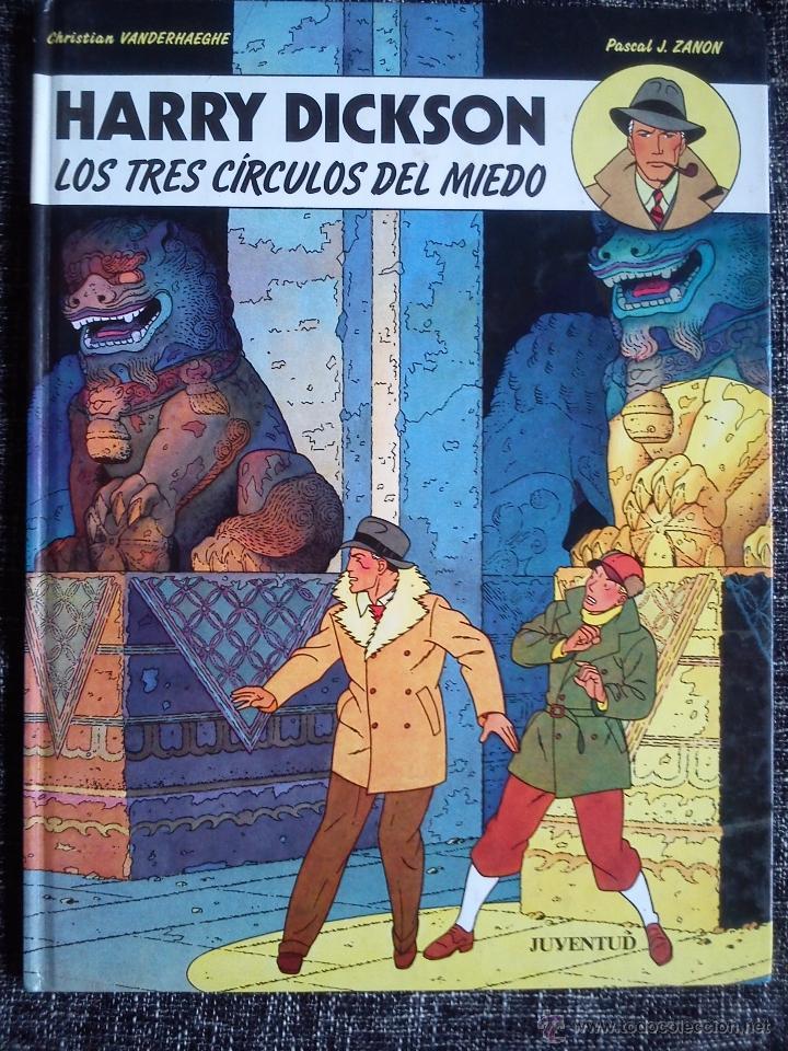 Cómics: HARRY DICKSON.LOTE 3 COMICS-LA BANDA DE LA ARAÑA-LOS FANTASMAS VERDUGOS-LOS TRES CÍRCULOS DEL MIEDO - Foto 4 - 41249834