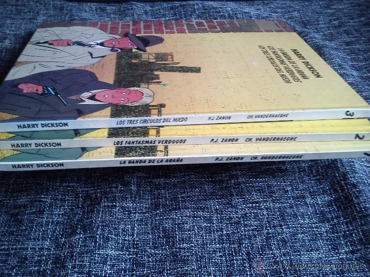 Cómics: HARRY DICKSON.LOTE 3 COMICS-LA BANDA DE LA ARAÑA-LOS FANTASMAS VERDUGOS-LOS TRES CÍRCULOS DEL MIEDO - Foto 5 - 41249834