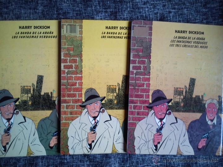 Cómics: HARRY DICKSON.LOTE 3 COMICS-LA BANDA DE LA ARAÑA-LOS FANTASMAS VERDUGOS-LOS TRES CÍRCULOS DEL MIEDO - Foto 6 - 41249834