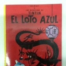 Cómics: TINTÍN EL LOTO AZUL TAPAS BLANDAS. Lote 41343088