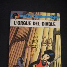 Cómics: YOKO TSUNO - Nº 2 - L'ORGUE DEL DIABLE - JOVENTUT - EN CATALÀ - . Lote 41463195
