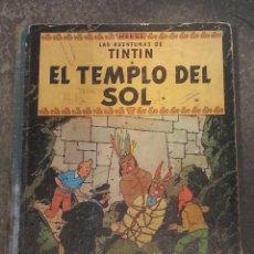 Cómics: TINTIN , EL TEMPLO DEL SOL , PRIMERA EDICIÓN 1961. Lote 41574039