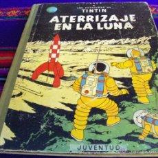 Cómics: TINTIN ATERRIZAJE EN LA LUNA SEGUNDA 2ª EDICIÓN 1965. JUVENTUD.. Lote 41670678