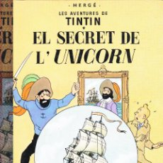 Cómics: TINTIN,EL SECRET DE L'UNICORN -1981-. Lote 41769361