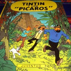 Cómics: TINTIN Y LOS PÍCAROS PRIMERA 1ª EDICIÓN. JUVENTUD 1976. . Lote 41801557