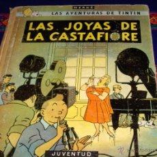 Cómics: TINTIN LAS JOYAS DE LA CASTAFIORE SEGUNDA 2ª EDICIÓN. JUVENTUD 1965.. Lote 42069524