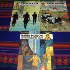 Cómics: HARRY DICKSON COMPLETA 3 NºS JUVENTUD 1984 BANDA ARAÑA, FANTASMAS VERDUGOS Y TRES CÍRCULOS DEL MIEDO. Lote 47468206