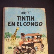 Cómics: LAS AVENTURAS DE TINTIN - TINTIN EN EL CONGO - SEGUNDA 2ª EDICION - 1970 - JUVENTUD - . Lote 42523691