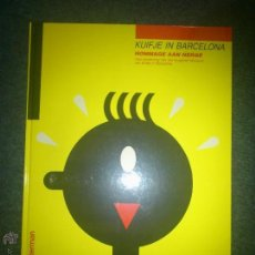 Cómics: TINTIN EXPOSICIÓN - TINTIN EN BARCELONA - HOMENAJE A HERGE FUNDACION JOAN MIRO - FRANCÉS. Lote 254638910