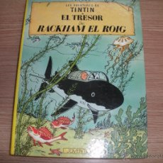 Cómics: LES AVENTURES DE TINTIN -EL TRESOR DE RACKHAM EL ROIG .. Lote 42872206