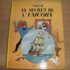 Cómics: LEA AVENTURES DE TINTIN - EL SECRET DE L^UNICORN -. Lote 42872211