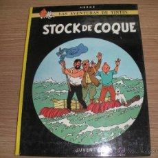Cómics: LAS AVENTURAS DE TINTIN- STOCK DE COQUE -. Lote 42872216