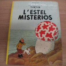 Cómics: LES AVENTURES DE TINTIN - L^ESTEL MISTERIOS -. Lote 42872228