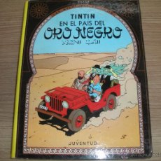 Cómics: TINTIN - EN EL PAIS -ORO-NEGRO-. Lote 42872236