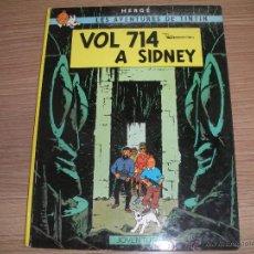 Cómics: LES AVENTURES DE TINTIN - VOL 74 - A SIDNEY -. Lote 42872248