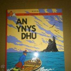 Cómics: TINTIN IDIOMAS - LA ISLA NEGRA / AN YNYS DHU - CORNICO CORNUALLES - CORNISH. Lote 42964914