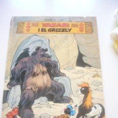 Cómics: YAKARI I EL GRIZZLY - CATALÁN, 1ª EDICIÓ JOVENTUT 1981 . Lote 43029361