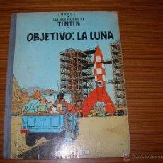 Cómics: TINTIN Nº OBJETIVO LA LUNA DE JUVENTUD CUARTA EDICION 1967. Lote 43294293