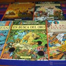 Cómics: CORI GRUMETE COMPLETA 5 TOMOS ESPÍAS DE LA REINA EL DRAGÓN DE LOS MARES BUSCA DEL ORO DALÍ CAPITÁN. Lote 42502993