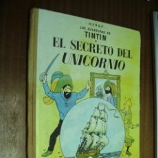 Cómics: EL SECRETO DEL UNICORNIO - LAS AVENTURAS DE TINTÍN / HERGÉ / JUVENTUD 3ª EDICIÓN 1965. Lote 43524064