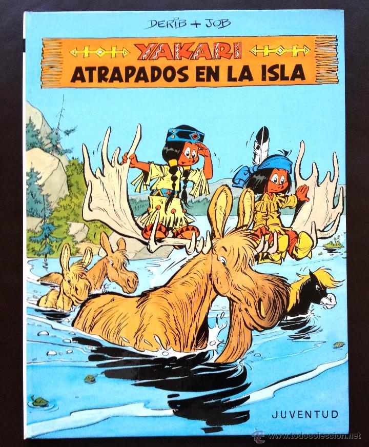 YAKARI - ATRAPADOS EN LA ISLA - Nº 9 - ED. JUVENTUD - 1ª EDICIÓN 1988 - TAPA DURA NUEVO (Tebeos y Comics - Juventud - Yakary)