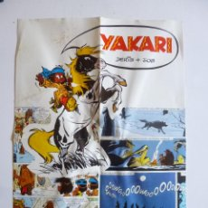 Cómics: POSTER YAKARI (DERIB Y JOB) ED. JUVENTUD. 38X28.5 CM. Lote 43841876