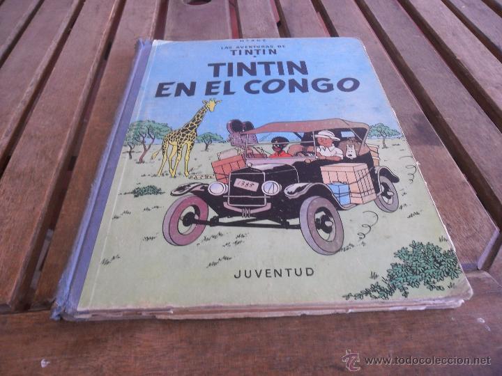 LAS AVENTURAS DE TINTIN JUVENTUD SEGUNDA EDICION 1970 TINTIN EN EL CONGO (Tebeos y Comics - Juventud - Tintín)