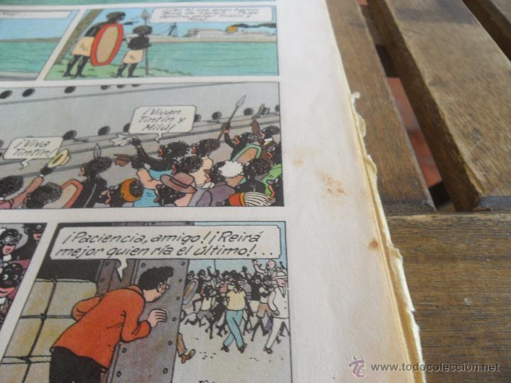 Cómics: LAS AVENTURAS DE TINTIN JUVENTUD SEGUNDA EDICION 1970 TINTIN EN EL CONGO - Foto 8 - 43883169