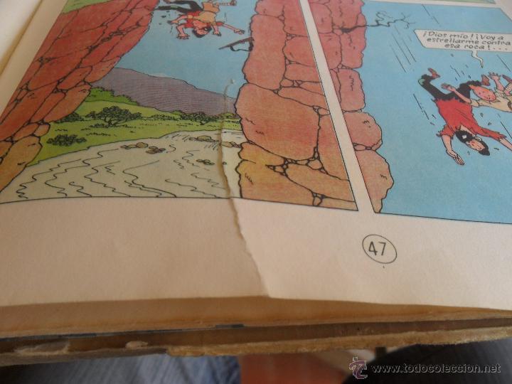 Cómics: LAS AVENTURAS DE TINTIN JUVENTUD SEGUNDA EDICION 1970 TINTIN EN EL CONGO - Foto 11 - 43883169